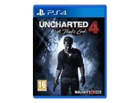 UNCHARTED 4 : A Thief's End - PS4 game