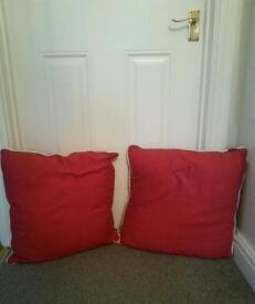 Next cushions x2
