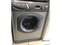 HOTPOINT Ultima 7kg grey washing machine 1600 spin £110 free delivery good condition