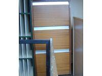 3 drawer wooden filing cabinet. No key, but isn't locked. £20