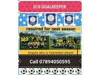 Doncaster belles football ages 8-9 goal keeper required