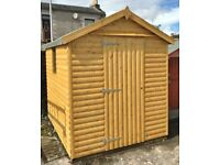 8ft x 6ft Premium T&G Sheds
