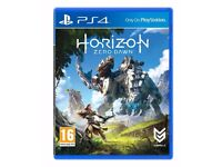HORIZON ZERO DAWN FOR PLAYSTATION 4 PS4 AS NEW AND SEALED