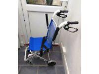 Handy Wheelchair. As New.