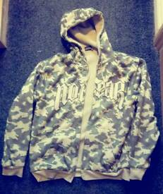 No Fear camouflaged jacket