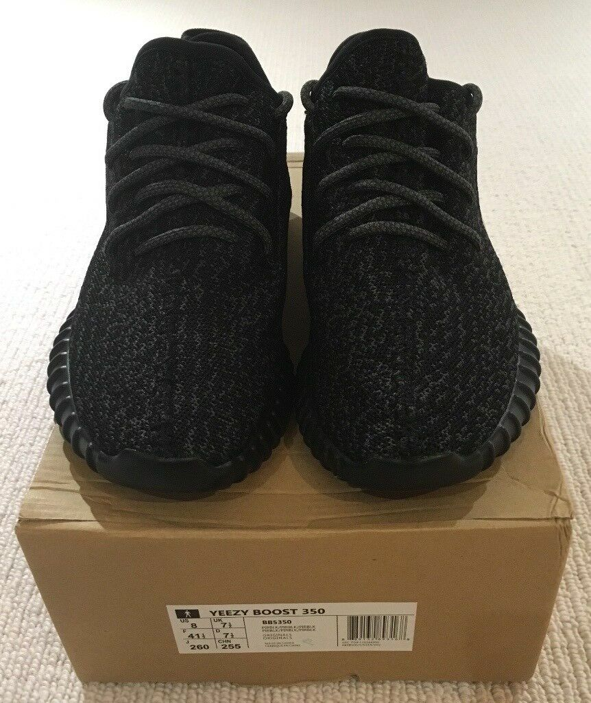 4d4c97a58d4 Adidas Yeezy Boost 350 V1 Pirate Black (Not Kanye