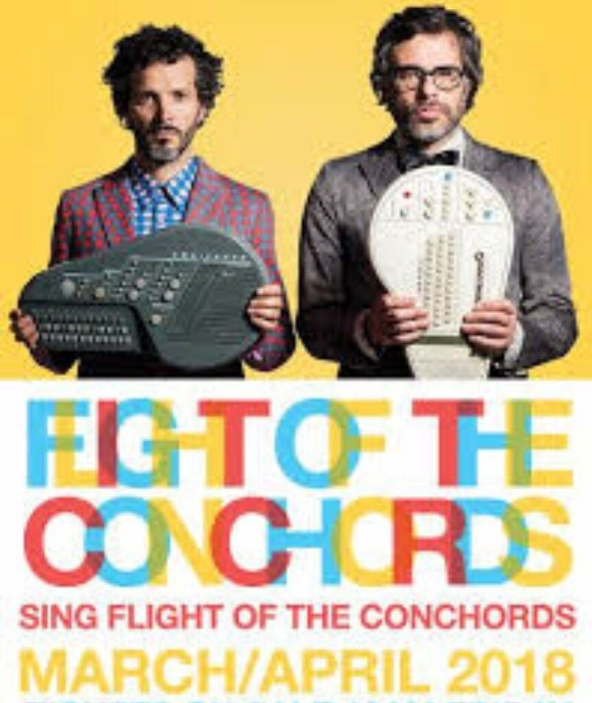 2 X Flight Of The Conchords Sing Tickets Liverpool Echo Arena 1st