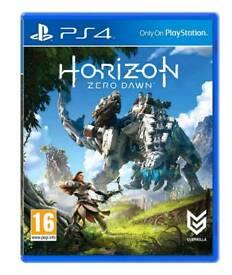 Horizon:Zero Dawn ps4 game