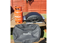 PORTABLE GAS BBQ WITH 9KG BOTTLE OF CALOR GAS - BILLYOH