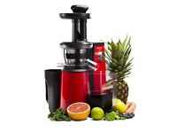 Andrew James Red Professional Masticating Slow Juicer Excellent condition