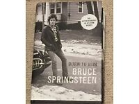 Bruce Springsteen's hardback autobiography: 'Born to Run'