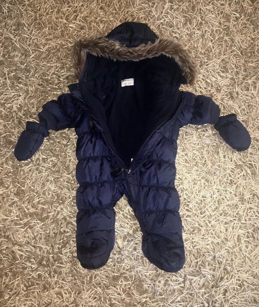Babaluno Snowsuit Baby Boys 0-3 months