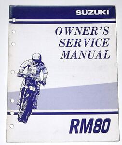 Suzuki Rm Service Manual