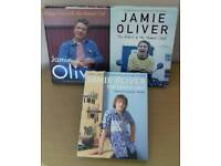 THREE JAMIE OLIVER COOK BOOKS