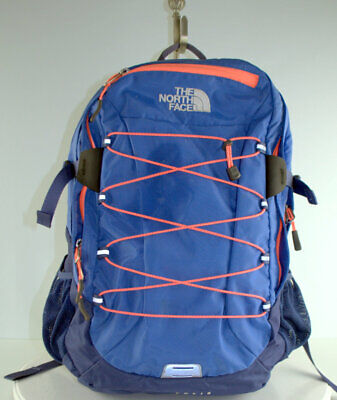 THE NORTH FACE BOREALIS Backpack Blue Student Laptop Travel Bag Womans CE86
