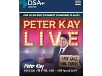 2 x Peter Kay tickets Sheffield 13th March 2019