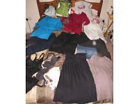 maternity clothes size 8/10 (S