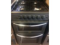 BELLING GAS COOKER DOUBLE OVEN WITH GRILL FREE DELIVERY AND WARRANTY