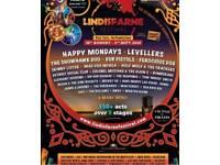 Lindesfarne Festival Ticket