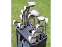 Tommy Armour 835S+845S Silver Scot golf club set.