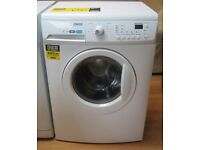 Zanussi 7kg Capacity 1600 Spin Washing Machine, VGC, 6 Month Cover