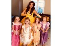 Molly's Magical Princess Parties! Beautiful all singing all dancing princesses!