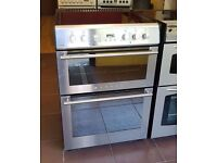 60cm Stoves Ceramic Cooker, Double Oven / Fan Assisted -6 Months Full Warranty (Ref:100012)