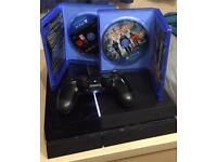 PS4 500gb with Division & Metal Gear Solid Phantom Pain