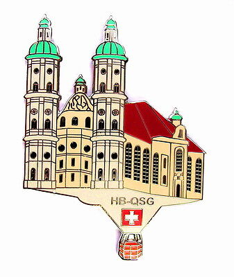 """BALLON """"SPECIAL SHAPE"""" Pin / Pins - KATHEDRALE ST. GALLEN / HB-QSG [3386]"""