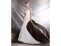 Beautiful Pronovias Osini wedding dress, unworn, size 8-10