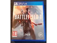 Battlefield 1 for PS4 *Like New*