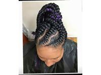 Shamarie Mobile & Salon/hair extension/braids/single plaits/mobile hairdresser/weave/cornrow