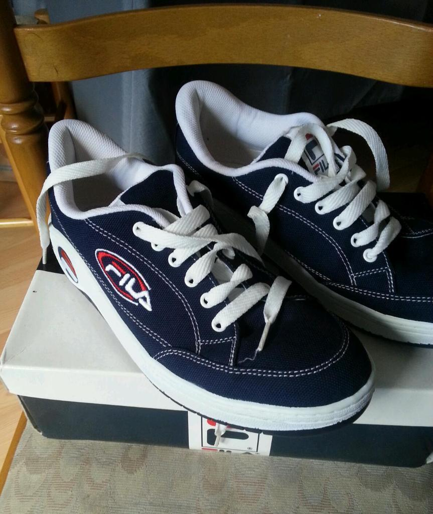 Fila vintage trainers Size 8