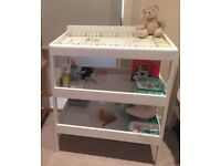 Baby changing table plus changing mat spike and buzz