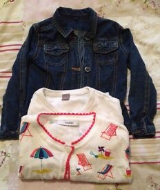 bundle of girls clothes age 18 months / 2 yrs .