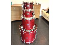 Yamaha Rock Tour Drum Kit- Including all hardware, cases and Sabian XS20 cymbals