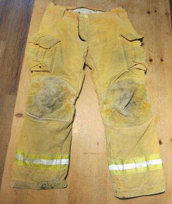 Lion Janesville Firefighter Fireman Turnout Gear Pants Size 38xl - B Yy1