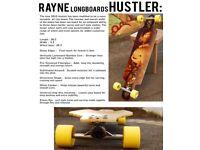 Rayne hustler longboard