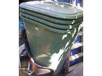 1 Garden Water Butt + lid German Graf 203L Storage/compost