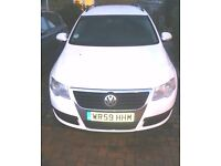 Vw 59 plate passat 1.6 TDI estate bluemotion is very economical on fuel and with low road tax