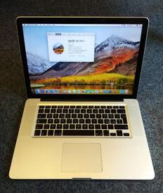 "Apple MacBook Pro Core i7 2.66 15"" Mid-2010 w/ Extras"