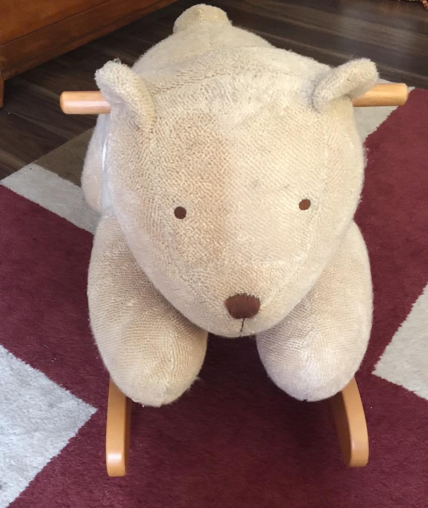 Mamas and papas rocking horse dog teddy bear style Was originally £65 from Argos grab a bargain