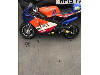 Mint Mini moto selling for different bike no stupid offers £130 first come first get