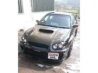 Subaru Impreza WRX STI version 8. Heavily modified big spec 454bhp track circuit drag