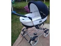 Used Bebecar Grand Style EL pushchair as a new