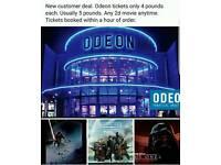Star wars odeon cinema tickets rogue one