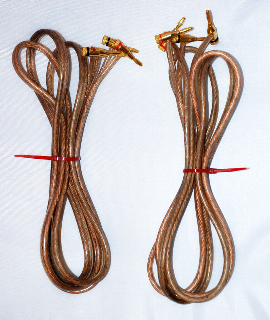 Vintage Monster cable 2.4m pair speaker cables | in Middlesbrough ...