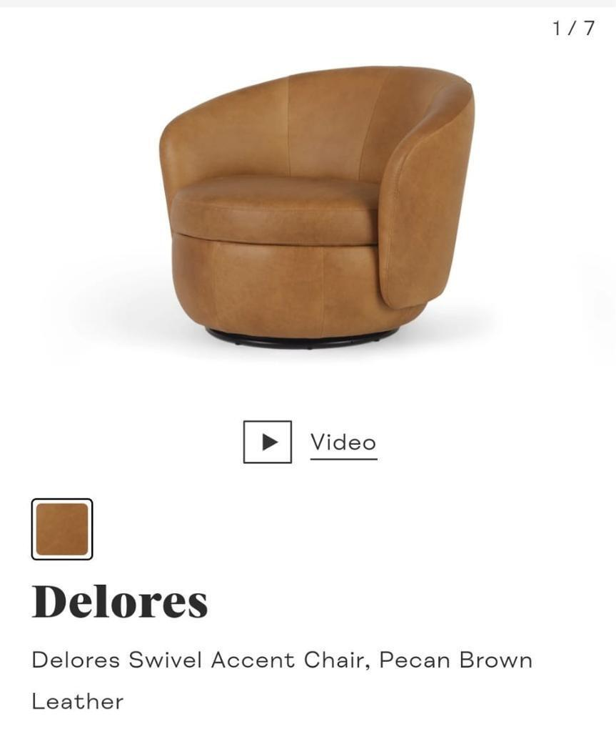 Brand New Leather Chair For