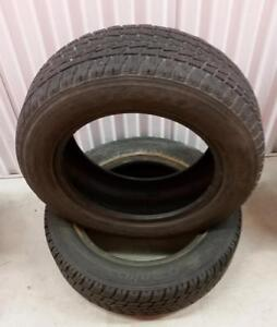 (MJ6) 2 Pneus Hiver - 2 Winter Tires 185-65-15 Toyo