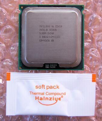 Intel Xeon E5450 SLBBM Quad-Core 3.0GHz/12M/1333 Socket LGA771 Processor CPU segunda mano  Embacar hacia Spain